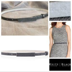 WHBM Skinny Suede Belt
